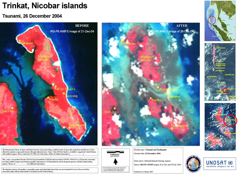 Tsunami Andaman and Nicobar